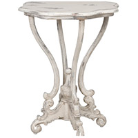 Dijon 24 X 24 inch White Table Home Decor