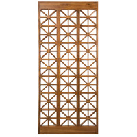 Teak Lattice Euro Teak Oil Outdoor Floor Screen