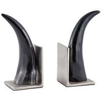 Abilene Natural and Nickel Bookend