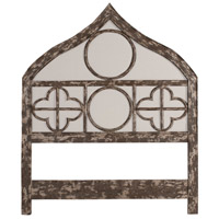 Gothic Potting Shed Gris Headboard, King