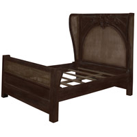 Acanthus Caned Handpainted Bed, King