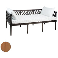 Guildmaster 9517001ET Teak Euro Teak Oil Outdoor Daybed