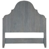 Planked Waxed Grey Headboard, King