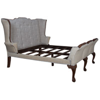 Jefferson Brown Bed, King Sleigh