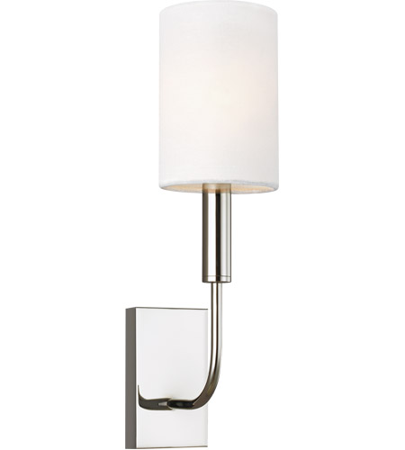 Polished Steel Wall Sconces
