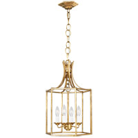 Generation Lighting AC1004ADB AH by Alexa Hampton Bantry House 4 Light 13 inch Antique Gild Lantern Pendant Ceiling Light
