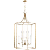 Generation Lighting AC1038ADB AH by Alexa Hampton Bantry House 8 Light 29 inch Antique Gild Lantern Pendant Ceiling Light