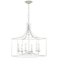 Generation Lighting AC1046GCM AH by Alexa Hampton Bantry House 6 Light 22 inch Gloss Cream Lantern Pendant Ceiling Light