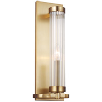 Generation Lighting AW1041BBS AH by Alexa Hampton Demi 1 Light 5 inch Burnished Brass Sconce Wall Light