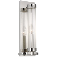 Generation Lighting AW1041PN AH by Alexa Hampton Demi 1 Light 5 inch Polished Nickel Sconce Wall Light