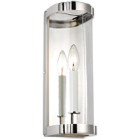 Generation Lighting AW1081PN AH by Alexa Hampton Thompson 1 Light 5 inch Polished Nickel Sconce Wall Light