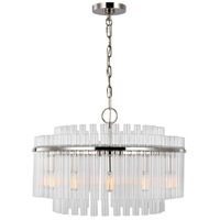 Generation Lighting CC12812PN C&M by Chapman & Myers Beckett 12 Light 24 inch Polished Nickel Chandelier Ceiling Light