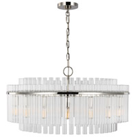 Generation Lighting CC12916PN C&M by Chapman & Myers Beckett 16 Light 32 inch Polished Nickel Chandelier Ceiling Light