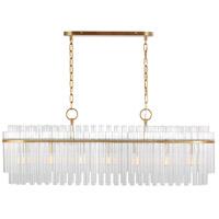 Generation Lighting CC1307BBS C&M by Chapman & Myers Beckett 7 Light 12 inch Burnished Brass Chandelier Ceiling Light
