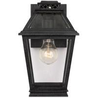 Generation Lighting CO1001DWZ C&M by Champan & Myers Falmouth 1 Light 11 inch Dark Weathered Zinc Outdoor Wall Lantern