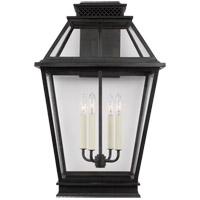 Generation Lighting CO1044DWZ C&M by Champan & Myers Falmouth 4 Light 25 inch Dark Weathered Zinc Outdoor Wall Lantern