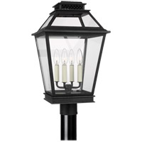 Generation Lighting CO1064DWZ C&M by Champan & Myers Falmouth 4 Light 22 inch Dark Weathered Zinc Outdoor Post Lantern