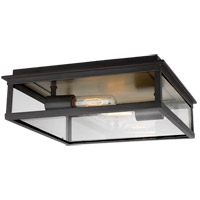 Generation Lighting CO1182HTCP C&M by Chapman & Myers Freeport 2 Light 15 inch Heritage Copper Outdoor Flush Mount