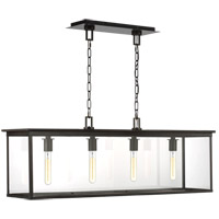 Generation Lighting CO1214HTCP C&M by Champan & Myers Freeport 4 Light 11 inch Heritage Copper Outdoor Linear Chandelier