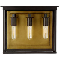 Generation Lighting CO1223HTCP C&M by Champan & Myers Freeport 3 Light 13 inch Heritage Copper Outdoor Wall Pocket