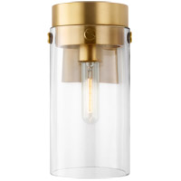 Generation Lighting CW1001BBS Chapman & Myers Garrett 1 Light 5 inch Burnished Brass Wall Sconce Wall Light