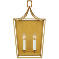 Generation Lighting CW1012BBS Chapman & Myers Southold 2 Light 10 inch Burnished Brass Wall Sconce Wall Light