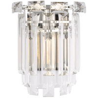 Generation Lighting CW1061PN C&M by Chapman & Myers Arden 1 Light 10 inch Polished Nickel Sconce Wall Light