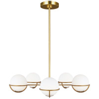 Generation Lighting Burnished Brass Chandeliers