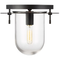Generation Lighting KF1051AI Kelly by Kelly Wearstler Nuance 1 Light 12 inch Aged Iron Flush Mount Ceiling Light