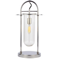 Generation Lighting KT1021PN1 Kelly by Kelly Wearstler Nuance 21 inch 9.5 watt Polished Nickel Table Lamp Portable Light