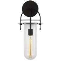 Generation Lighting KW1051AI Kelly by Kelly Wearstler Nuance 1 Light 9 inch Aged Iron Wall Sconce Wall Light