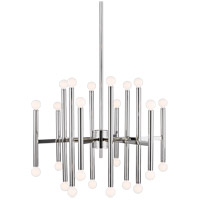 Generation Lighting TC10624PN TOB by Thomas OBrien Beckham Modern 24 Light 29 inch Polished Nickel Chandelier Ceiling Light