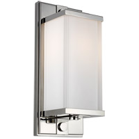 Generation Lighting TV1211PN TOB by Thomas OBrien Logan 1 Light 5 inch Polished Nickel Wall Sconce Wall Light