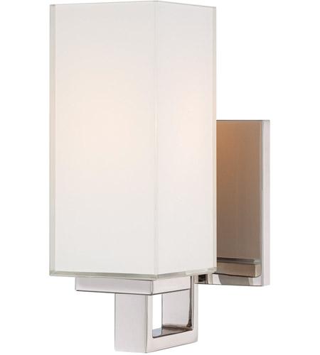 George Kovacs P1702 613 Gk 1 Light 5 Inch Polished Nickel Wall Sconce Wall Light