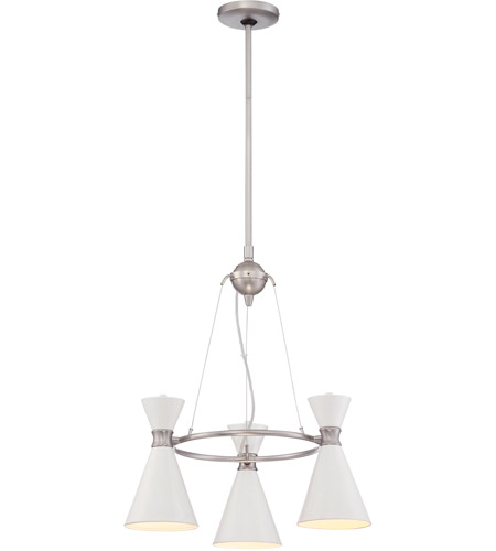 George kovacs p1823 44f conic 3 light 20 inch glitter gloss white george kovacs p1823 44f conic 3 light 20 inch glitter gloss white mini chandelier ceiling mozeypictures Choice Image