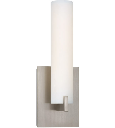 George Kovacs P5040-084-L Tube LED 5 inch Brushed Nickel ADA Wall Sconce Wall Light photo thumbnail