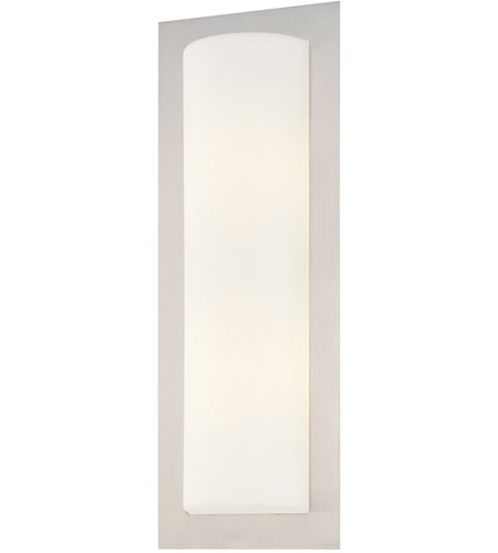 George Kovacs P563 144a Signature 2 Light 7 Inch Brushed Stainless
