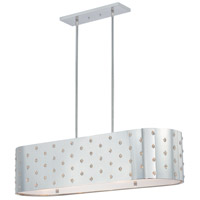George Kovacs P026-077 Bling Bling 4 Light 37 inch Chrome Island Light Ceiling Light
