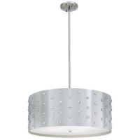 George Kovacs P034-077 Bling Bling 4 Light 22 inch Chrome Pendant Ceiling Light