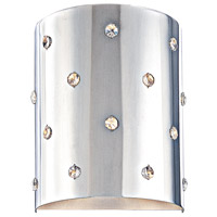 Bling Bling 1 Light 7 inch Chrome ADA Wall Sconce Wall Light