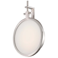 Loupe LED 7 inch Brushed Nickel ADA Wall Sconce Wall Light