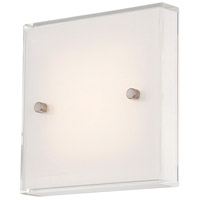 George Kovacs Brushed Nickel Wall Sconces