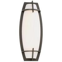 George Kovacs P1146-286-L Morida LED 7 inch Pebble Bronze ADA Wall Sconce Wall Light