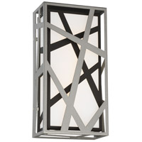 George Kovacs P1147-658-L Duvera LED 7 inch Sand Silver and Sand Black ADA Wall Sconce Wall Light