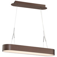 George Kovacs P1170-617-L Step Up LED 34 inch Bronze Pendant Ceiling Light