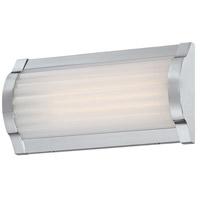 George Kovacs P1171-077-L Verin LED 9 inch Chrome Bath Bar Wall Light