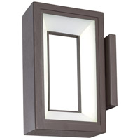 George Kovacs P1200-615C-L Skylight LED 10 inch Textured Dorian Bronze Outdoor Wall Sconce
