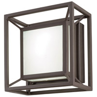 George Kovacs P1202-287-L Outline LED 7 inch Sand Bronze Outdoor Pocket Lantern Convertible To Flush Mount