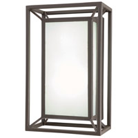 George Kovacs P1203-287-L Outline LED 11 inch Sand Bronze Outdoor Pocket Lantern Convertible To Flush Mount