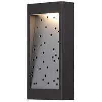 George Kovacs P1227-564-L Pinball LED 10 inch Oil Rubbed Bronze/Silver Dus Outdoor Pocket Lantern